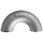 Stainless steel 180 elbow LR